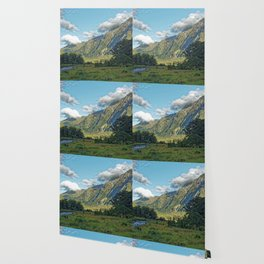Monkey Creek, New Zealand Landscape Wallpaper