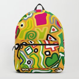 color doodle Backpack