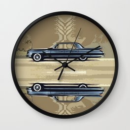 Cadillac Fleetwood Sixty-Special 1961 Wall Clock