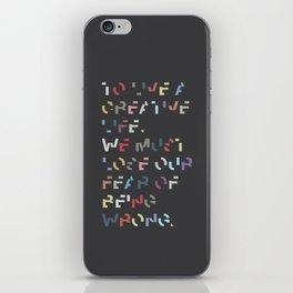 Creative Life. iPhone Skin