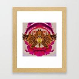 Flying House Framed Art Print