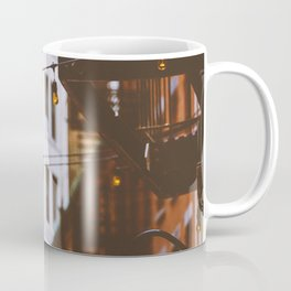 New York City Buildings and Lights (Color) Coffee Mug