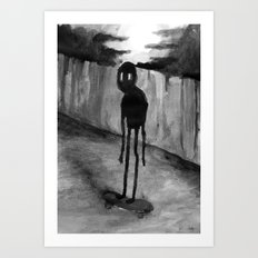 Skaterade Art Print