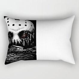 Friday the 13th (Variant) Rectangular Pillow