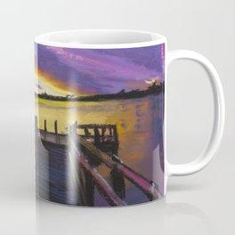 Shelley Bridge Sunset Coffee Mug