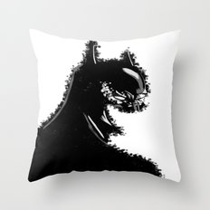 Batman's Mask style Throw Pillow