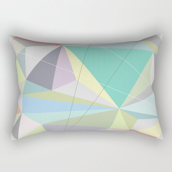Circle 2 Rectangular Pillow