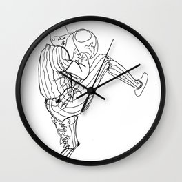 One-Liner Wall Clock