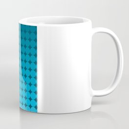 Blue Circles Coffee Mug
