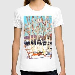 12,000pixel-500dpi - Tom Thomson - April in Algonquin Park - Digital Remastered Edition T-shirt