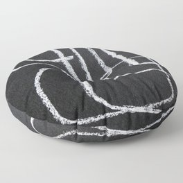 Only One Line Floor Pillow