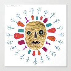 Halloween print: Mummy Canvas Print
