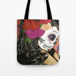 Natural High: Maquillaje De La Dia Tote Bag