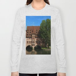 Old Architecture  Nuremberg Long Sleeve T-shirt