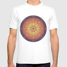 Warmth White MEDIUM Mens Fitted Tee
