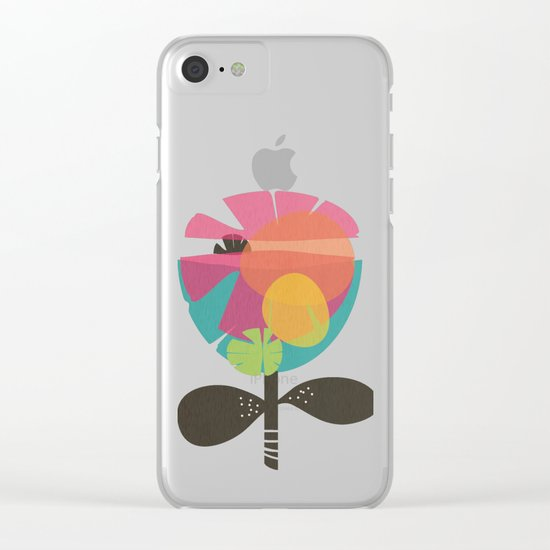 La Flor Clear iPhone Case