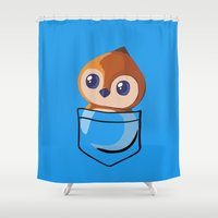 warcraft Shower Curtains featuring Pepe! by SlothgirlArt