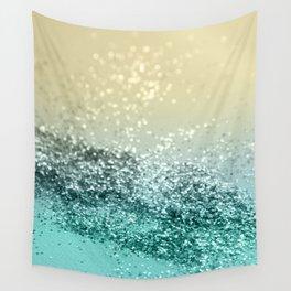Lemon Twist Beach Glitter #2 #shiny #decor #art #society6 Wall Tapestry