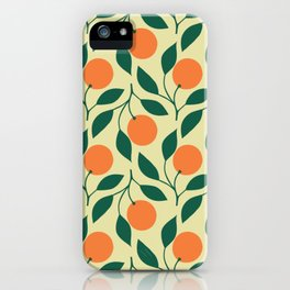 California Orange Grove iPhone Case
