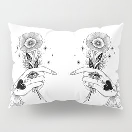 a Kind Flower Pillow Sham
