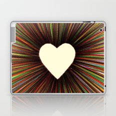 heart radiant color Laptop & iPad Skin