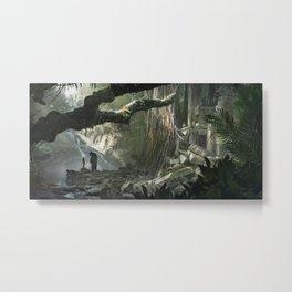 La Jungle Metal Print