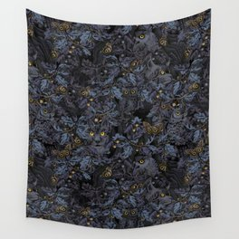 Fit In (moonlit blue) Wall Tapestry