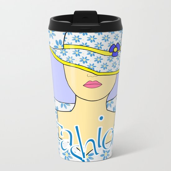 Fashion Statement Metal Travel Mug