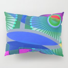 Bright Abstract Pillow Sham