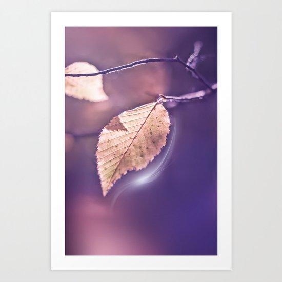 LIGHT POEM Art Print