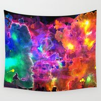 neon Wall Tapestries featuring Neon by SkinnyGinny
