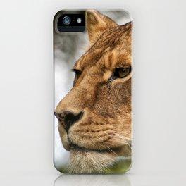 Josie the Lioness iPhone Case