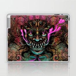 Japanese Dragon Mask Laptop & iPad Skin