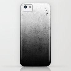 Black Ombre Concrete Texture iPhone 5c Slim Case