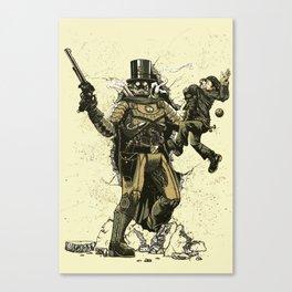 Retrobocop Canvas Print