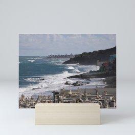 The Edge of Puerto Rico Mini Art Print