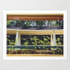 Hideaway Retreat Art Print