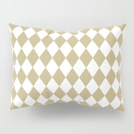 Rhombus (Sand/White) Pillow Sham