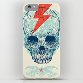 Skull Bolt iPhone Case