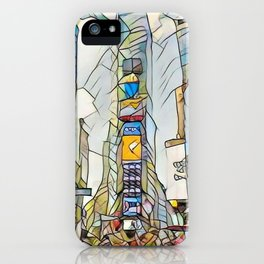 NYC Life in Times Square iPhone Case