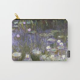 Water Lilies 1922 by Claude Monet Carry-All Pouch
