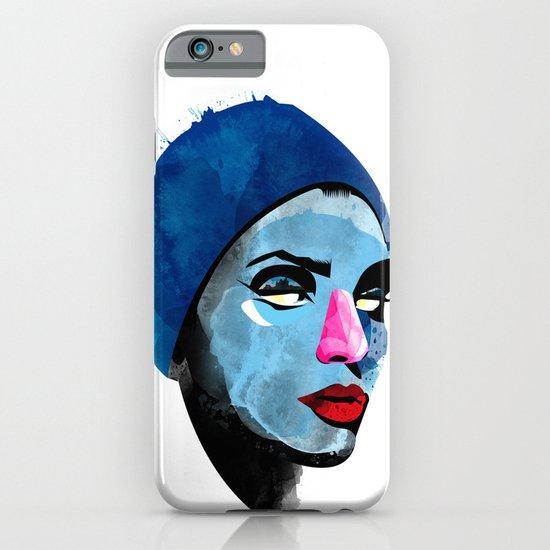 Woman's head iPhone & iPod Case