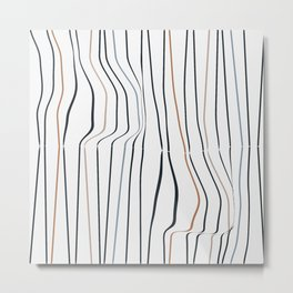 Nordic Pattern No. 30 Metal Print