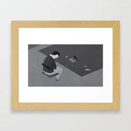 Freelancer Framed Art Print