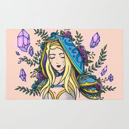 Maiden of Ice Rug
