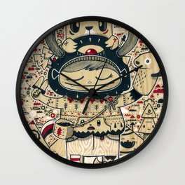 the keeper of the forest Wall Clock