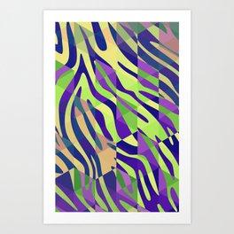 Zebragon 2 Art Print
