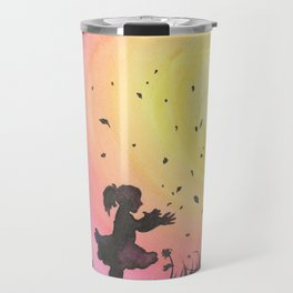 Surrounded By Love / Les Papillons Travel Mug