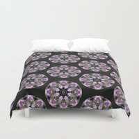 lavender Duvet Covers featuring Lavender by Selene