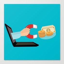 E-Commerce Canvas Print